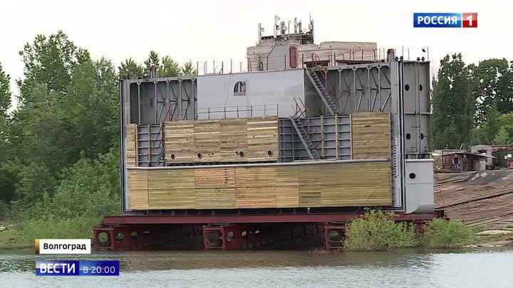 Батопорт по-волгоградски: создано уникальное гидротехническое сооружение