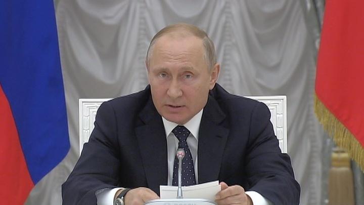 """Путин надеется, что у министров хватит здоровья на """"цели нового уровня"""""""
