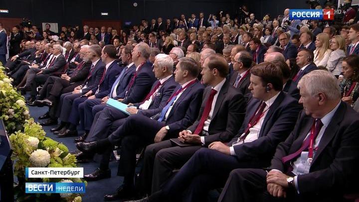 Петербург снова собрал самых влиятельных людей планеты
