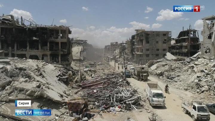 Дамаск стал мирным городом