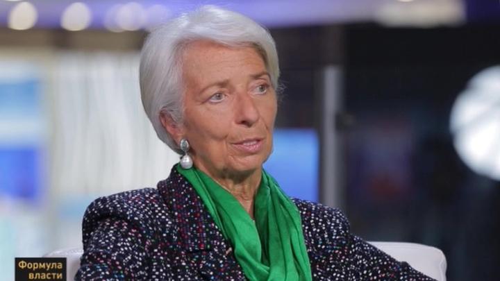 Формула власти. Директор-распорядитель МВФ Кристин Лагард