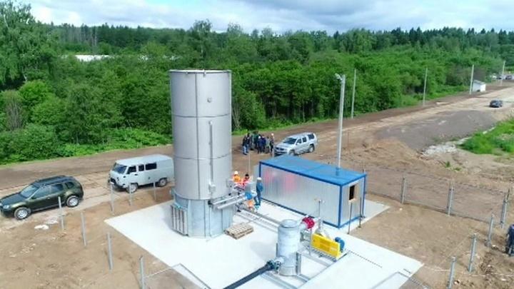 """На полигоне """"Ядрово"""" в Подмосковье тестируют систему удаления свалочного газа"""