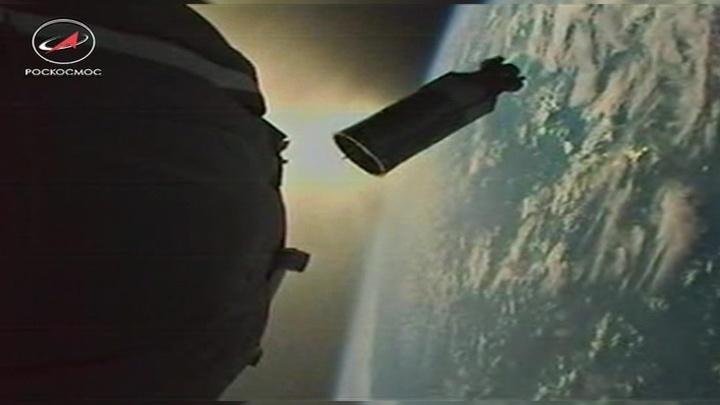 """""""Союз"""" вышел на орбиту и причалит к МКС через двое суток"""