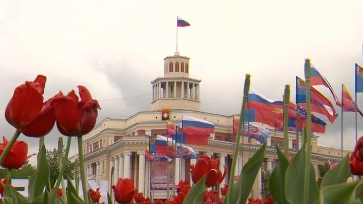Город шахтеров Кемерово отмечает свое столетие