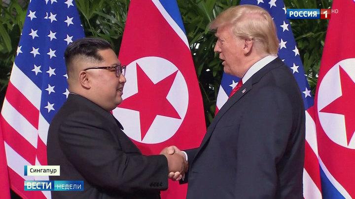 Встреча Трампа и Ким Чен Ына: много слов, но ничего конкретного