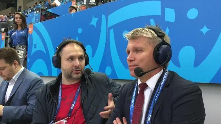 Министр спорта Павел Колобков о матче Россия – Египет