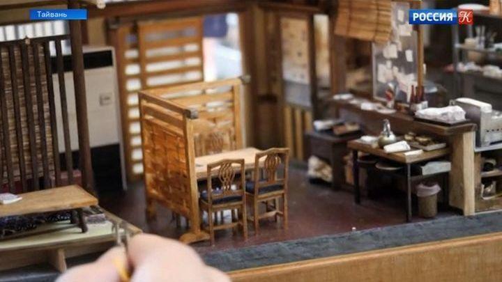 Художник Хэнк Чен создает миниатюрные копии сценок повседневной жизни