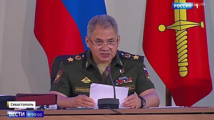 Впервые в истории Коллегия Минобороны провела совещание в Крыму