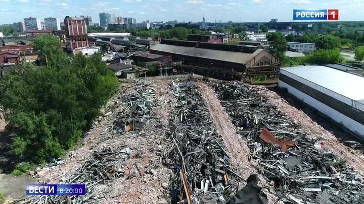 В Мытищах спасают от уничтожения архитектурный комплекс XIX века