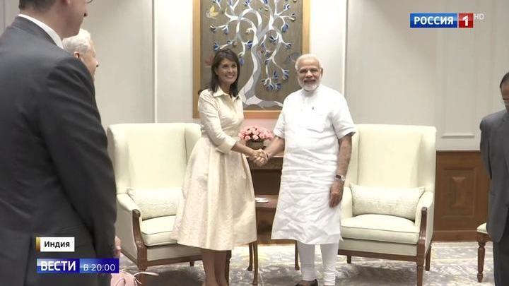 Индия объявила Соединенным Штатам ореховую блокаду