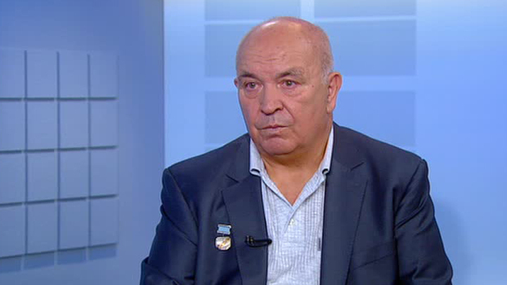 Виктор Васильевич Заболотский, заслуженный летчик-испытатель СССР.