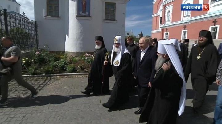 Владимир Путин прибыл на остров Валаам