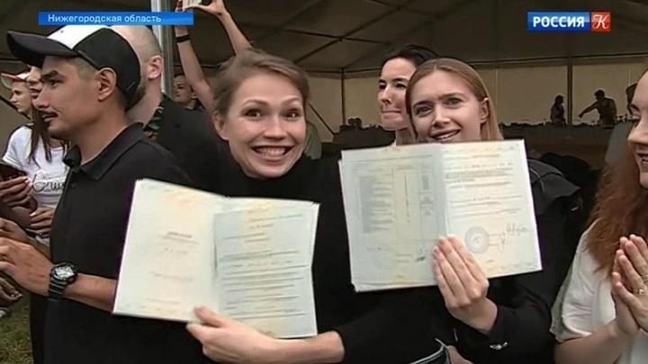 Выпускникам Академии кинематографического и театрального искусства вручили дипломы