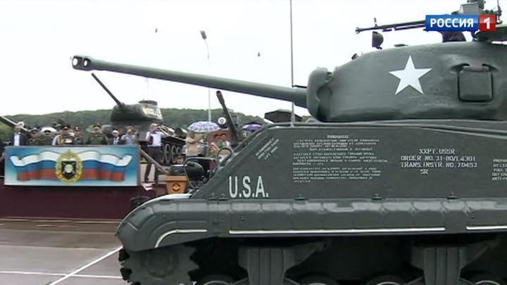 """В Приморье восстановили американский танк """"Шерман"""""""