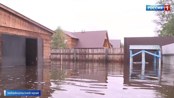 В Забайкальском крае объявлено экстренное предупреждение в связи с подъемом уровня Ингоды