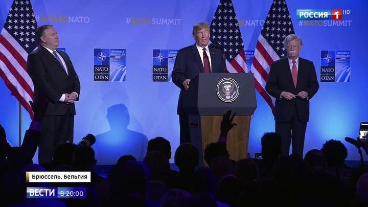 Визит барина: на саммите НАТО Трамп отругал всех собравшихся