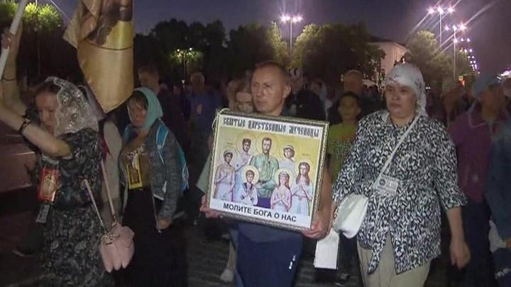 Последний путь императора: в память 100-летия расстрела под Екатеринбургом прошел 100-тысячный крестный ход