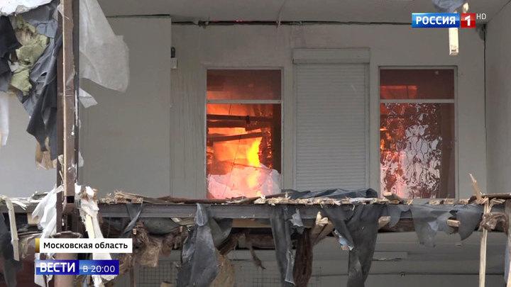 Поджог или несчастный случай: в Солнечногорске выясняют причины пожара в ТЦ