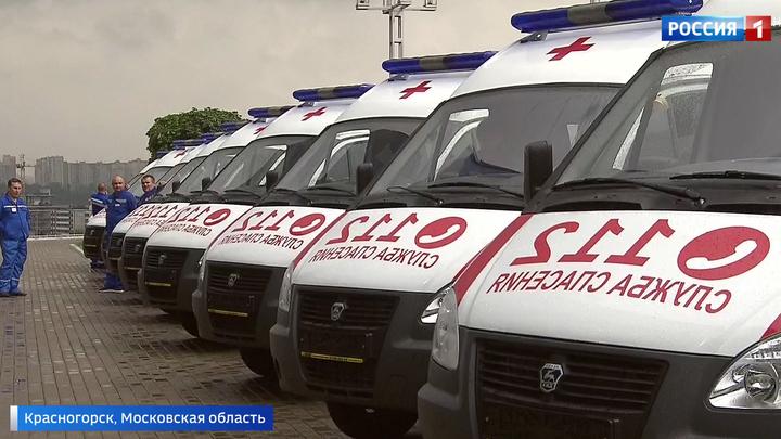 Госпиталь на колесах: Подмосковье получило 85 современных машин скорой помощи