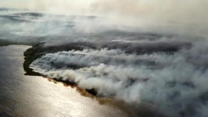 В Якутии из-за природных пожаров объявлен режим чрезвычайной ситуации