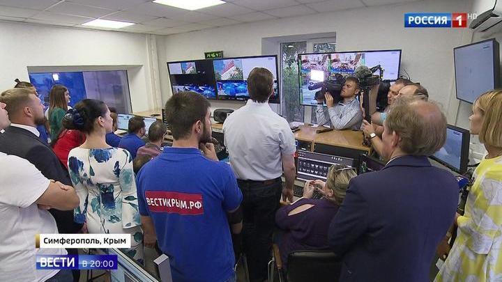 """Филиал со счастливым номером: телеканал """"Таврида"""" начал вещание из Крыма"""