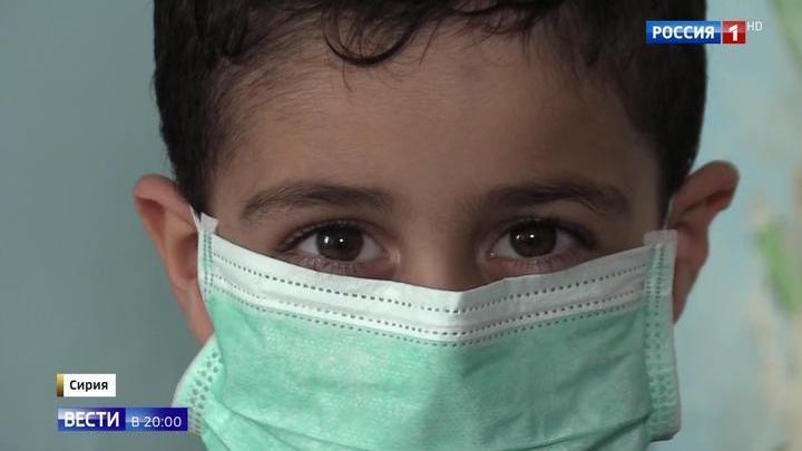 В Петербург из Сирии приедет маленький пациент доктора Лизы