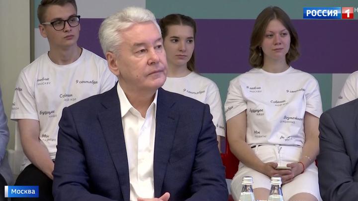 Кандидат в мэры Сергей Собянин встретился с главврачами столичных больниц