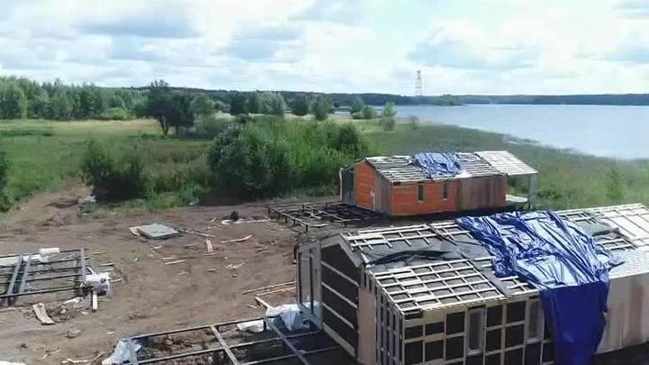 Стройкой на берегу водохранилища в Подмосковье заинтересовалась прокуратура