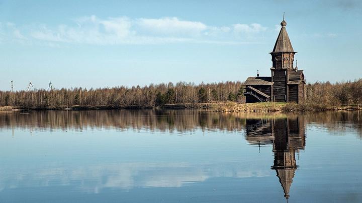 В Карелии сгорела уникальная церковь XVIII века