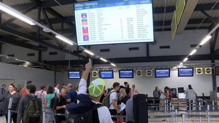 Из-за забастовки пилотов Ryanair в Европе отменили 400 рейсов