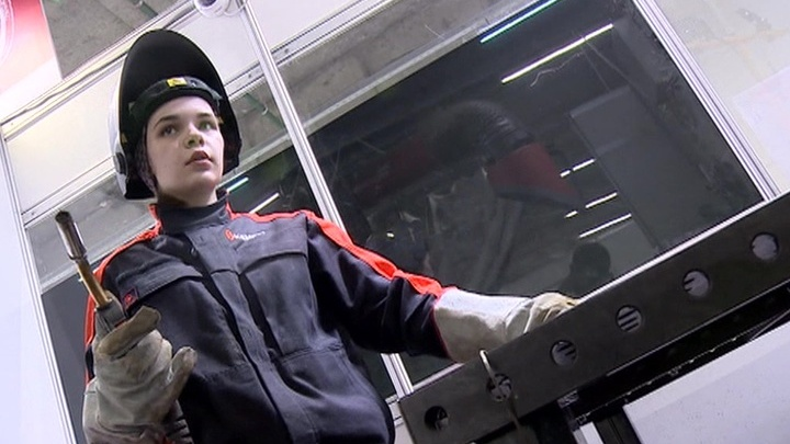Канализационные трубы в форме сердца: на Сахалине проходит конкурс WorldSkills
