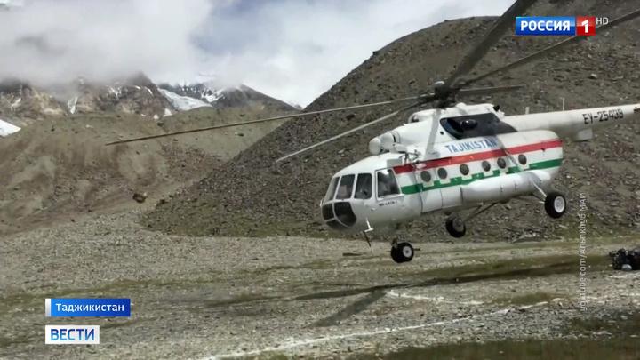 Жесткая посадка вертолета в горах Таджикистана: пятеро погибших