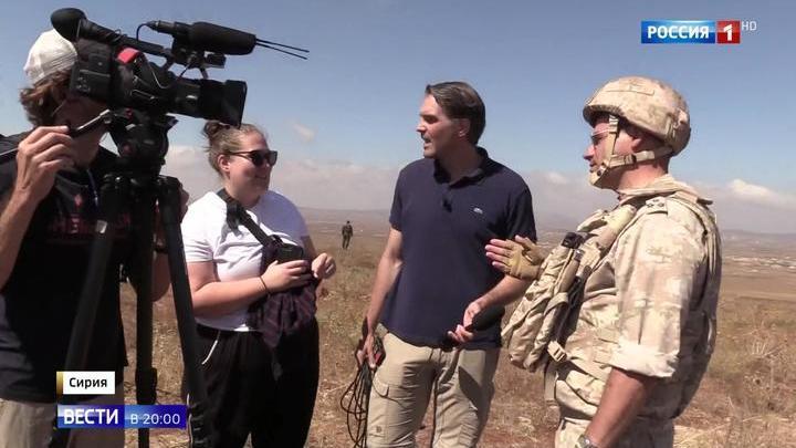 Сирию показали иностранным журналистам