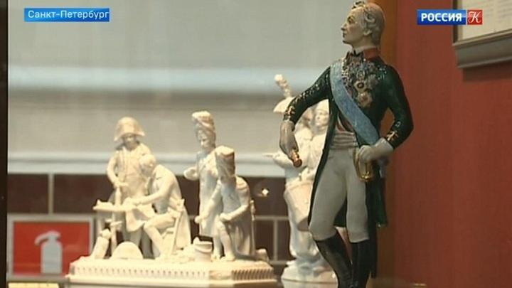 Фарфоровая фигурка Суворова появилась в Музее генералиссимуса