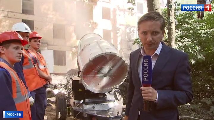 "Московские хрущевки демонтируют по технологии ""умного сноса"""