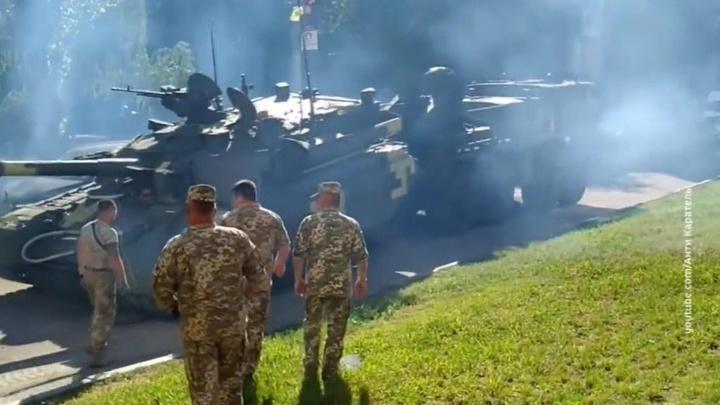 В Раде уверены, что грохот украинской бронетехники потрясет Кремль
