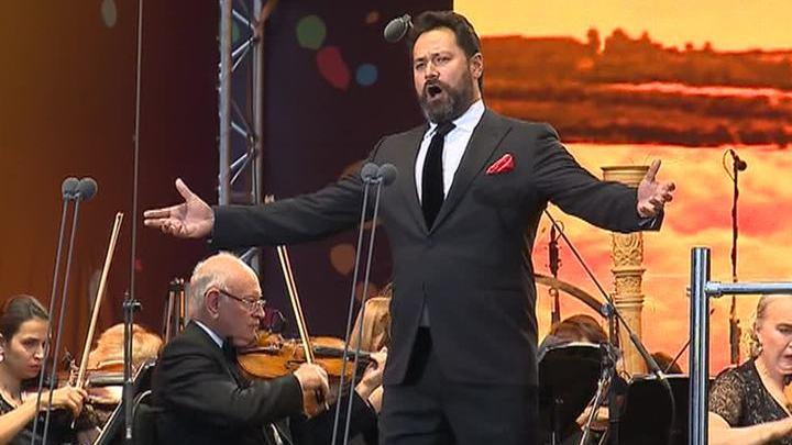 В Красноярске прошел концерт памяти Хворостовского