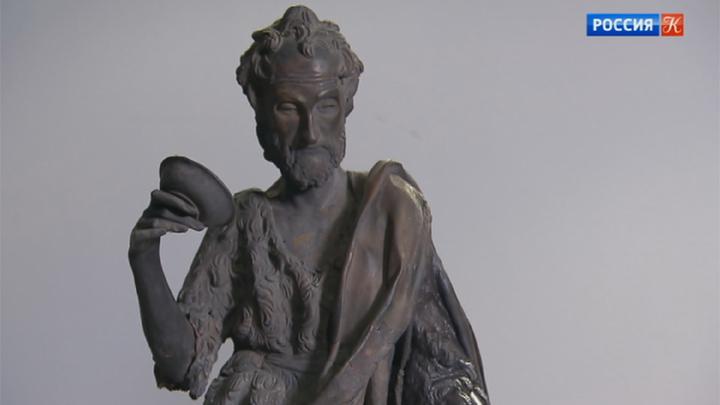 В ГМИИ им. Пушкина реставрируют скульптуру работы Донателло