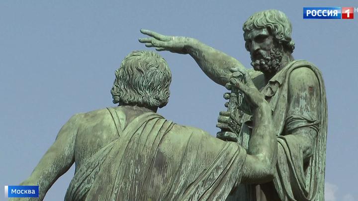Памятник Минину и Пожарскому, построенный на народные деньги, хотят...