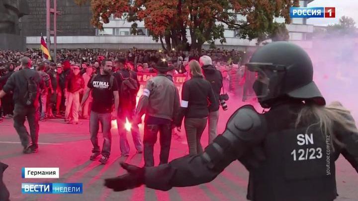 Миграционный кризис: немцы боятся получить на улице ножом в спину