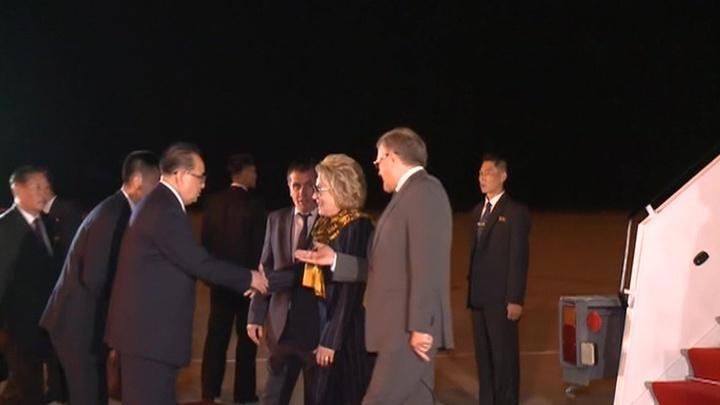 Валентина Матвиенко передаст Ким Чен Ыну послание Владимира Путина