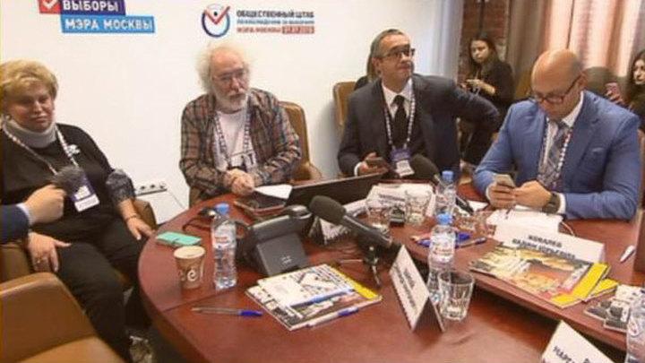 На выборы мэра Москвы пришли 99,5 процента наблюдателей от Общественной палаты