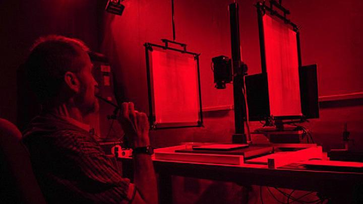 Спектральная (многозональная) съёмка фрагментов рукописей