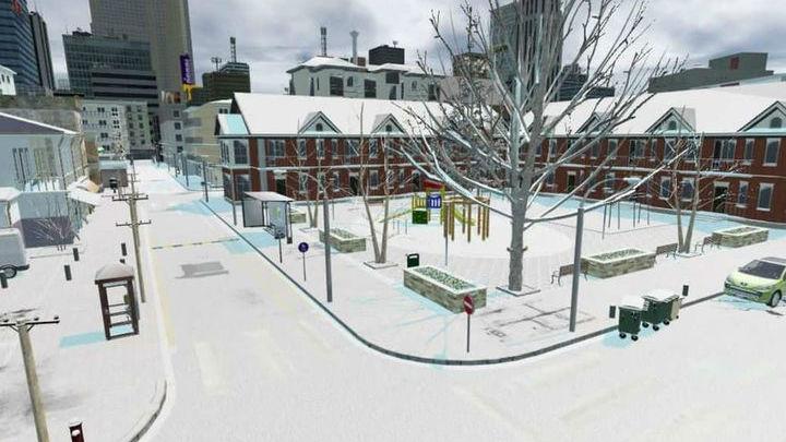 """В """"Синтии"""" представлен весь спектр погоды, характерный для города √ дождь и снег."""