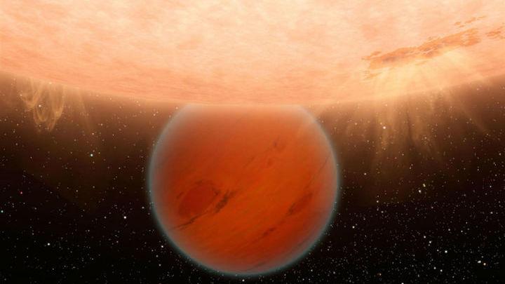 Когда планета проходит по диску светила, можно получить спектр её атмосферы.
