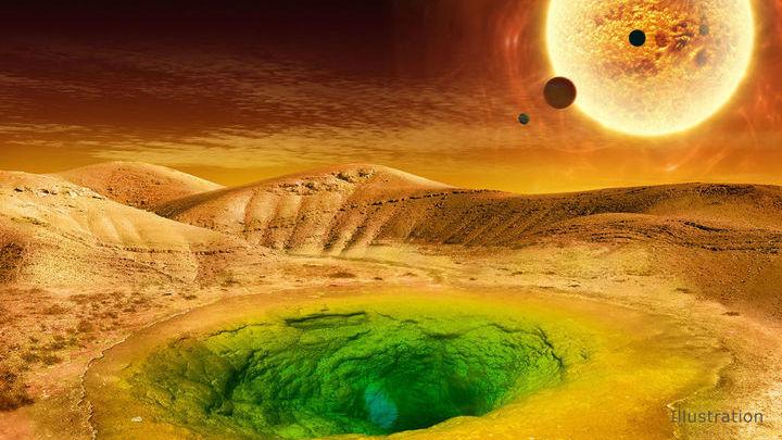 Одним из многочисленных фактов, которые можно обнаружить в астрономических наблюдениях, является обилие хлорофилла на поверхности планеты.