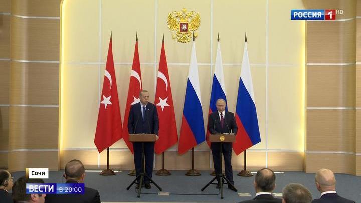 Путин и Эрдоган создадут демилитаризированную зону в Идлибе