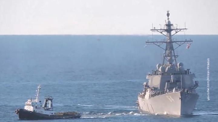 Западные страны стягивают свои силы в район Средиземного моря