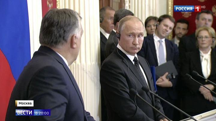 Чай, атом, газ и перевод: Путин и Орбан определили новые горизонты дружбы России и Венгрии
