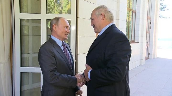 Владимир Путин и Александр Лукашенко встретились в Сочи